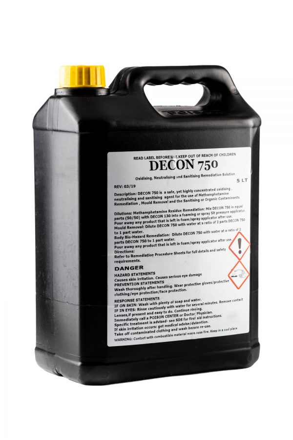 decon 750 meth