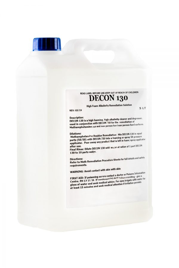 decon 130 meth decon chemical